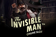The Invisible Man – игровой автомат от Гейминатор Слотс картинка логотип